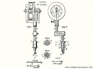 1891_firts_Tattoo_Machine