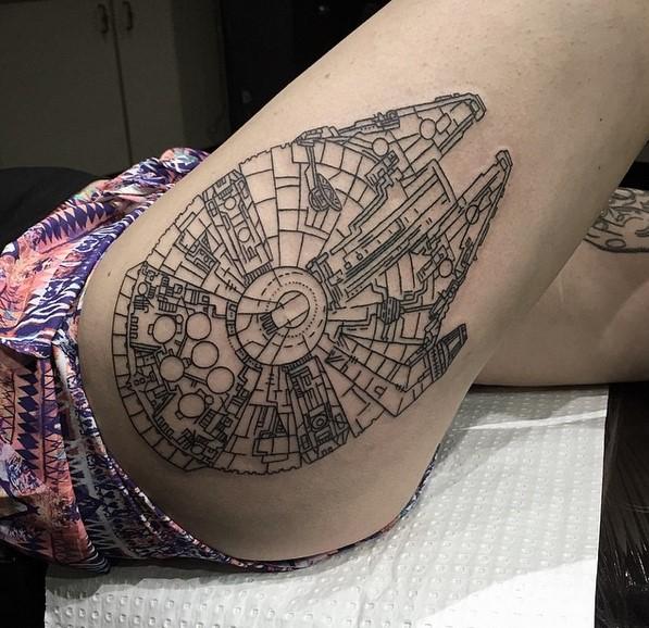 tatuajehalconmilenario